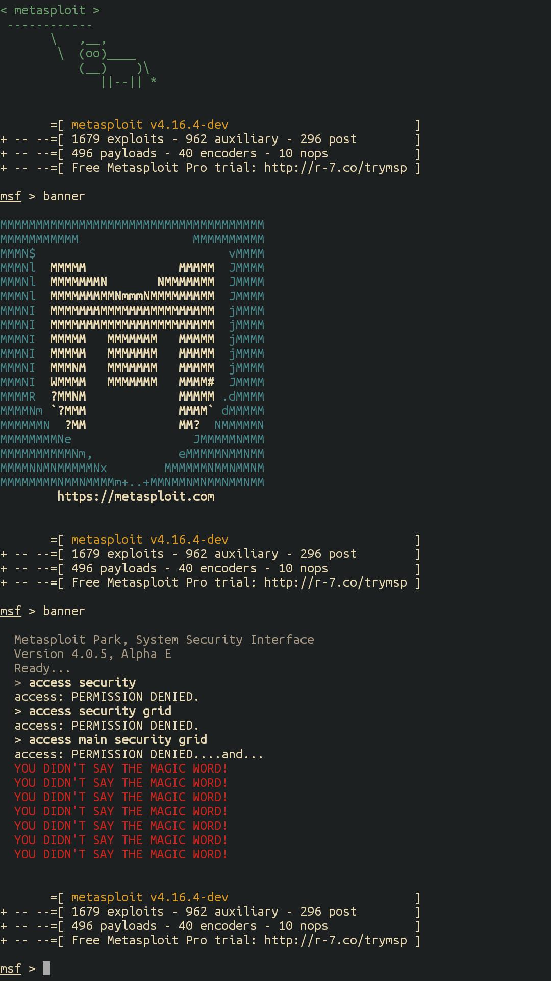 Metasploit Framework - Termux Wiki